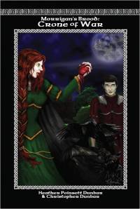 Crone of War: Morrigan's Brood Book II Front Cover, by Khanada Taylor