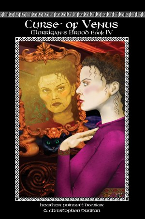 Cover Art for Curse of Venus: Morrigan's Brood Book IV