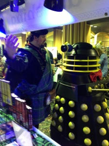 Selling books to a Dalek
