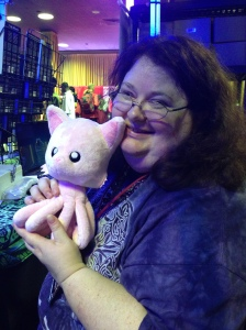 Heather and Tentacle Kitty